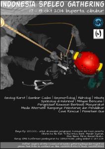 Poster Indonesia Speleo Gahtering