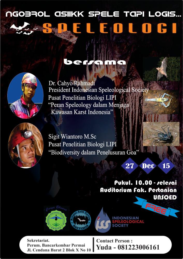Masyarakat Speleologi Indonesia Bac Ngobrol Asik Sepele Tapi Logis