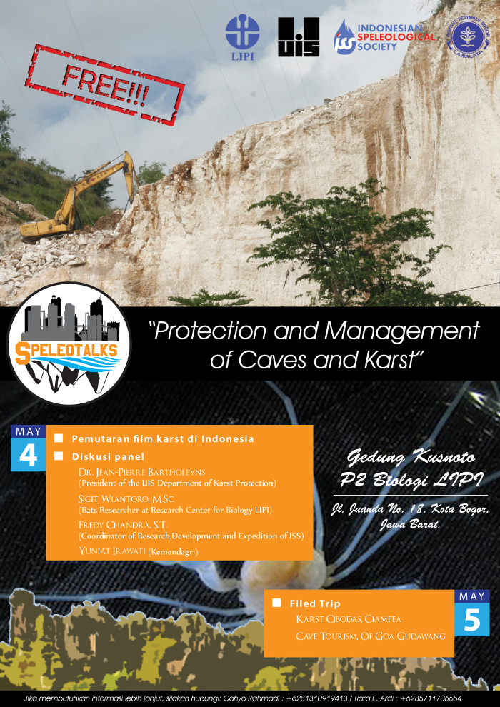 "SpeleoTalks – ""Protection and Management of Caves and Karst"""