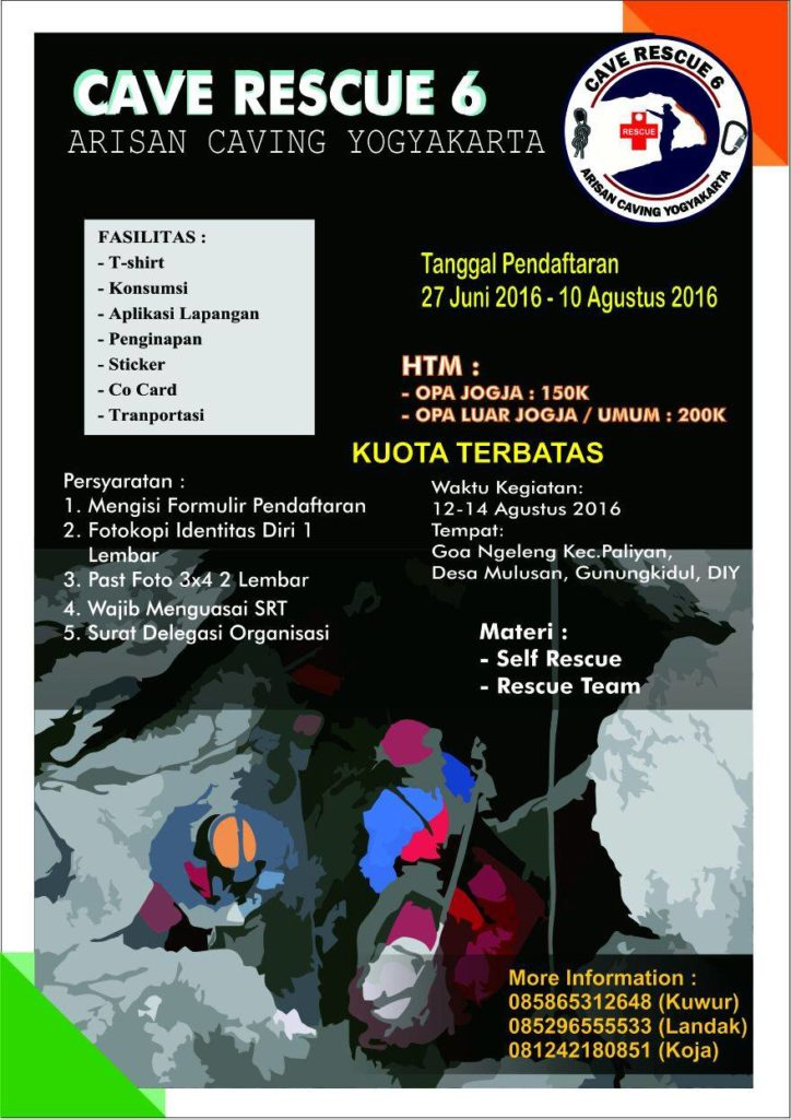 Cave Rescue 6 Arisan Caving Yogyakarta