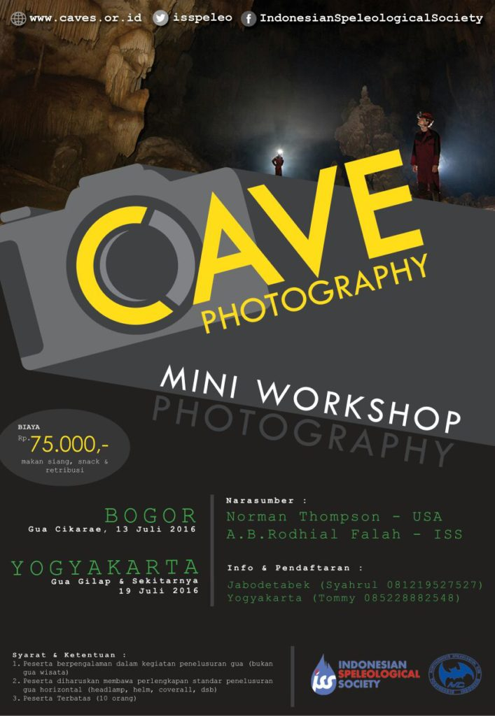 Mini Workshop Cave Photography