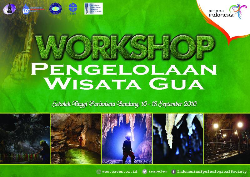workshop pengelolaan wisata gua 2016