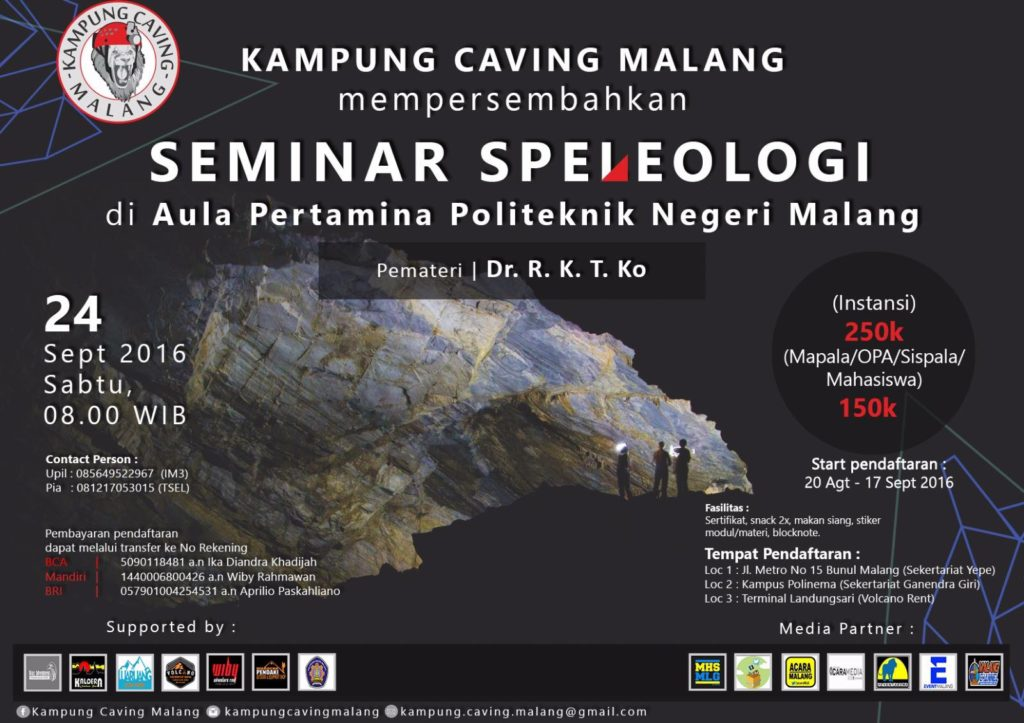 Seminar Speleologi